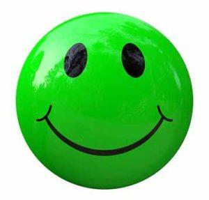 Smiley glücklich