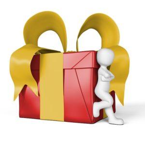 du bist ein Geschenk