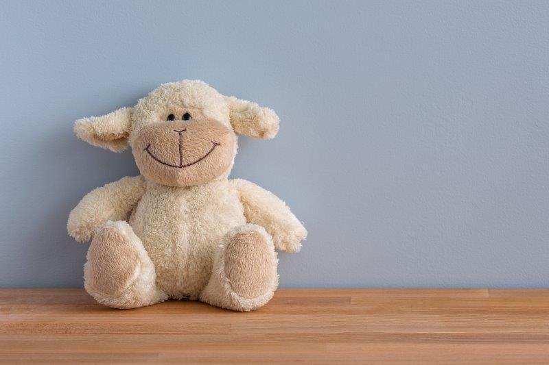 Schaf lächelt