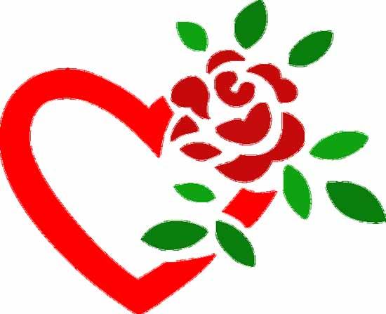 Herz Blume