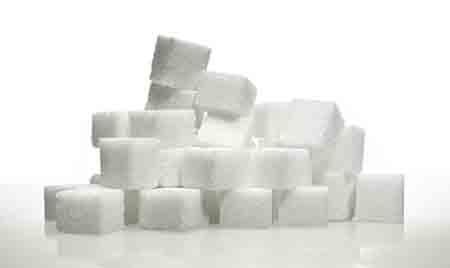 Zucker Würfel