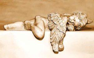 Schlafen Engel
