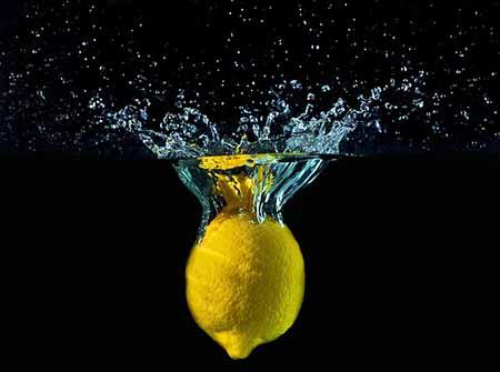 Zitrone Wasser