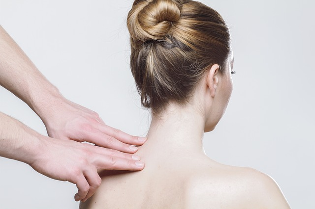 Nacken Massage