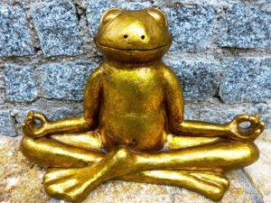 Stress vermeiden Meditation