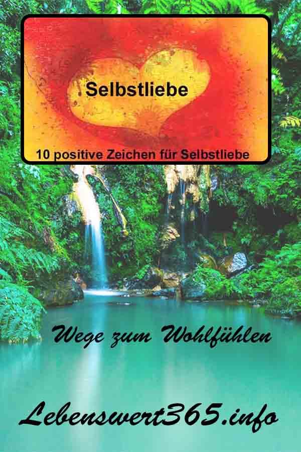 Selbstliebe 10 positive Zeichen