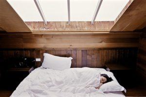 Schlafzimmer hell