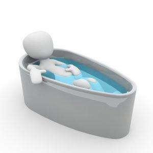 Badewanne Entspannung