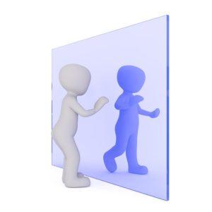 Spiegelungen erkennen mit the Work