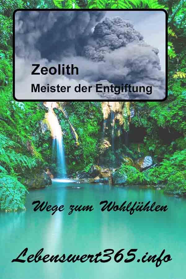 Zeolith - Meister der Entgiftung