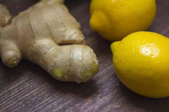 Zitronen Ingwer
