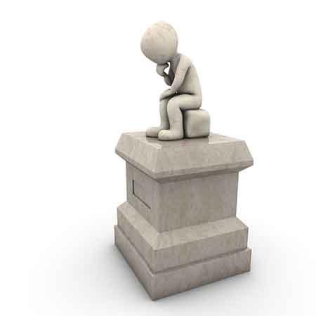 Denker Statue
