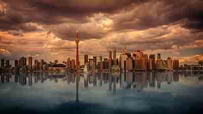Spiegelung Toronto