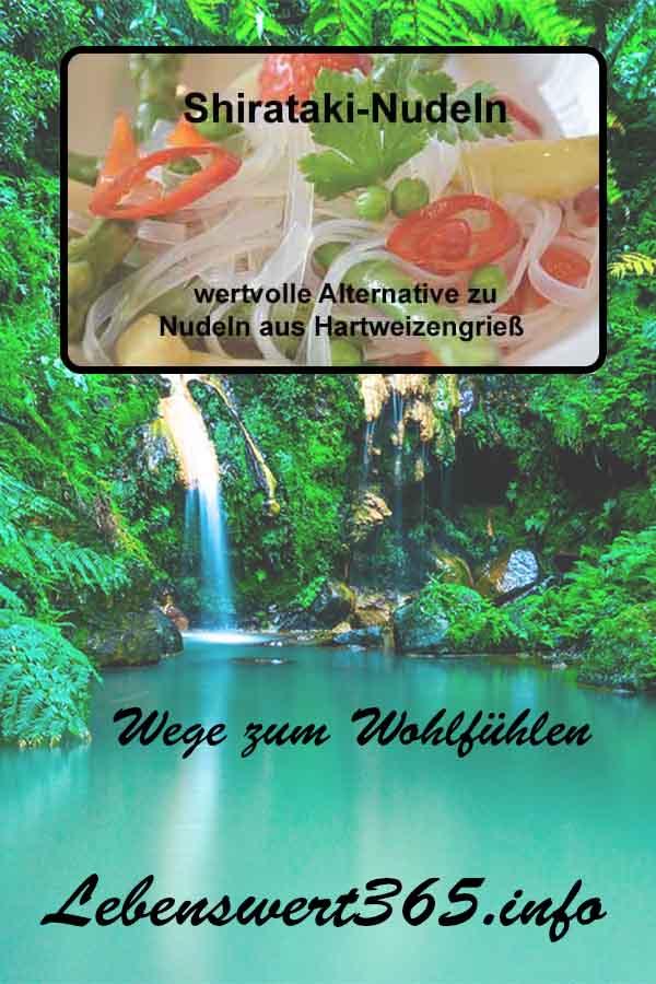 Shirataki-Nudeln – wertvolle Alternative zu Nudeln aus Hartweizengrieß