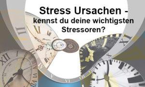 stress ursachen