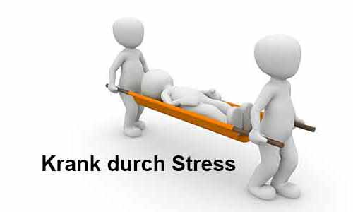 krank durch stress