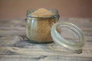 brauner Zucker für Kombucha