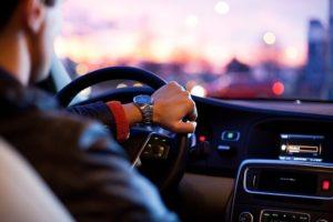 Intention beim Autofahren