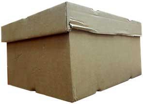 Überraschung in einer unansehnlichen Box...
